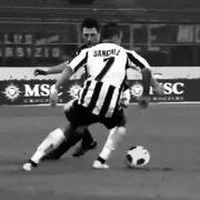 La formazione dell'Udinese nel giorno dell'ultima partita di Sanchez in Italia