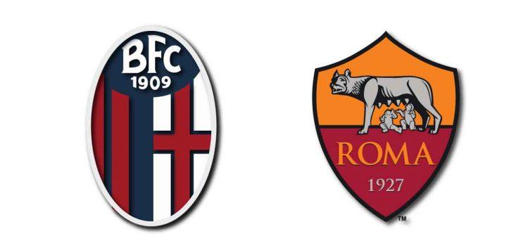 Al termine di Bologna-Roma c'è stato un po' di trambusto