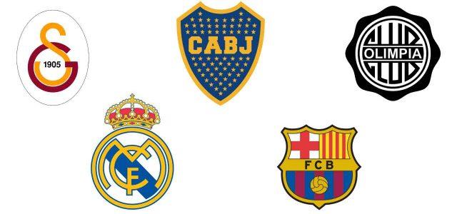 Le squadre più vincenti del mondo