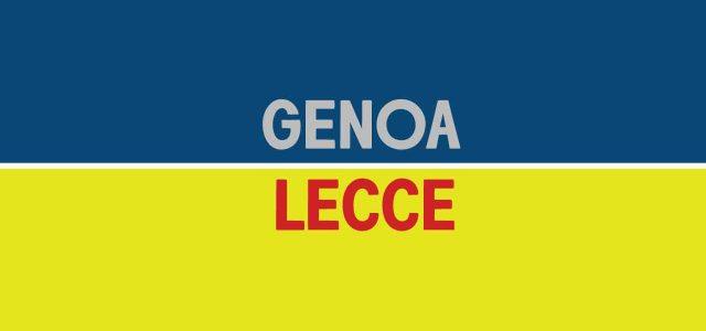 Genoa-Lecce, 90 minuti con il fiato sospeso