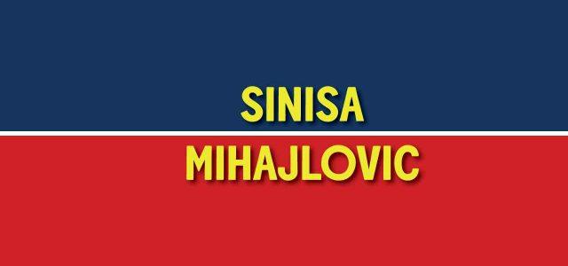 Le formazioni della prima panchina in Serie A di Sinisa Mihajlovic